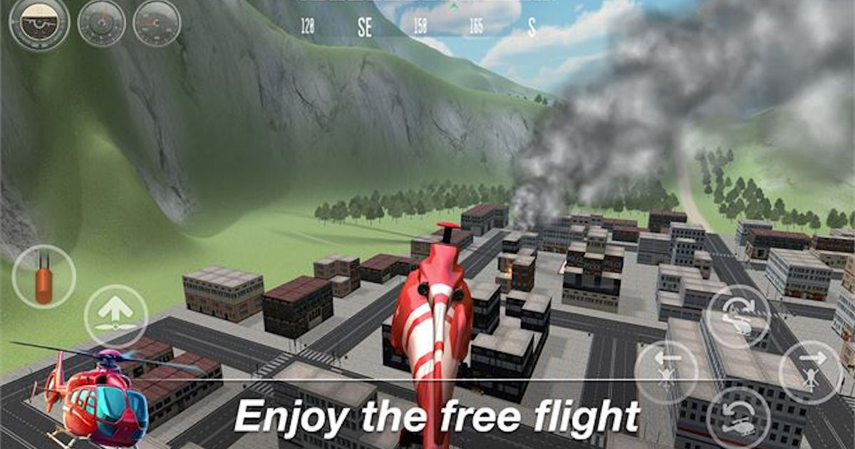FREE Helicopter Flight Simulat...