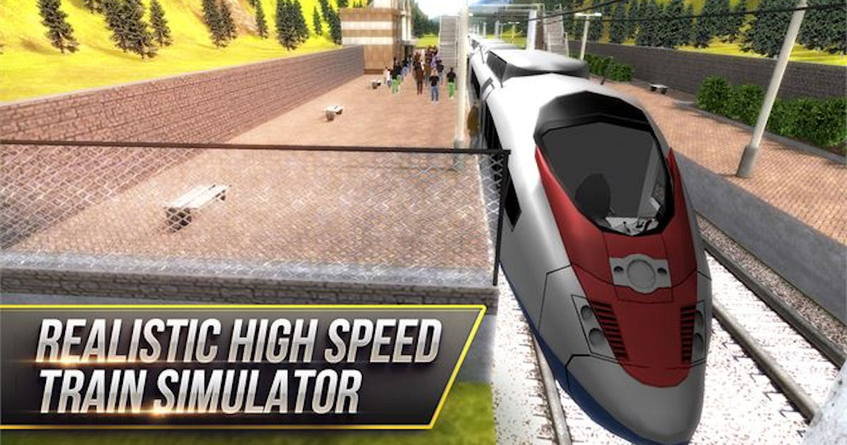 FREE High Speed Trains 3D PC G...
