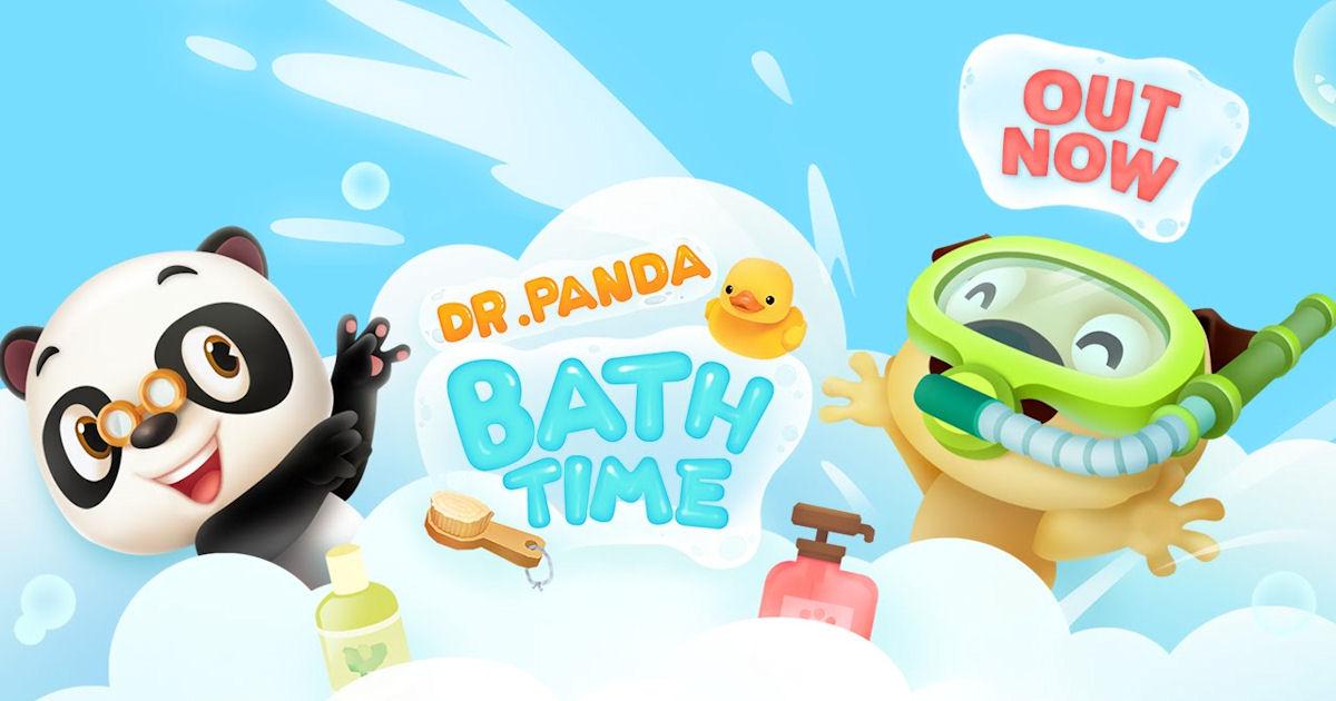 FREE Dr. Panda Bath Time App..
