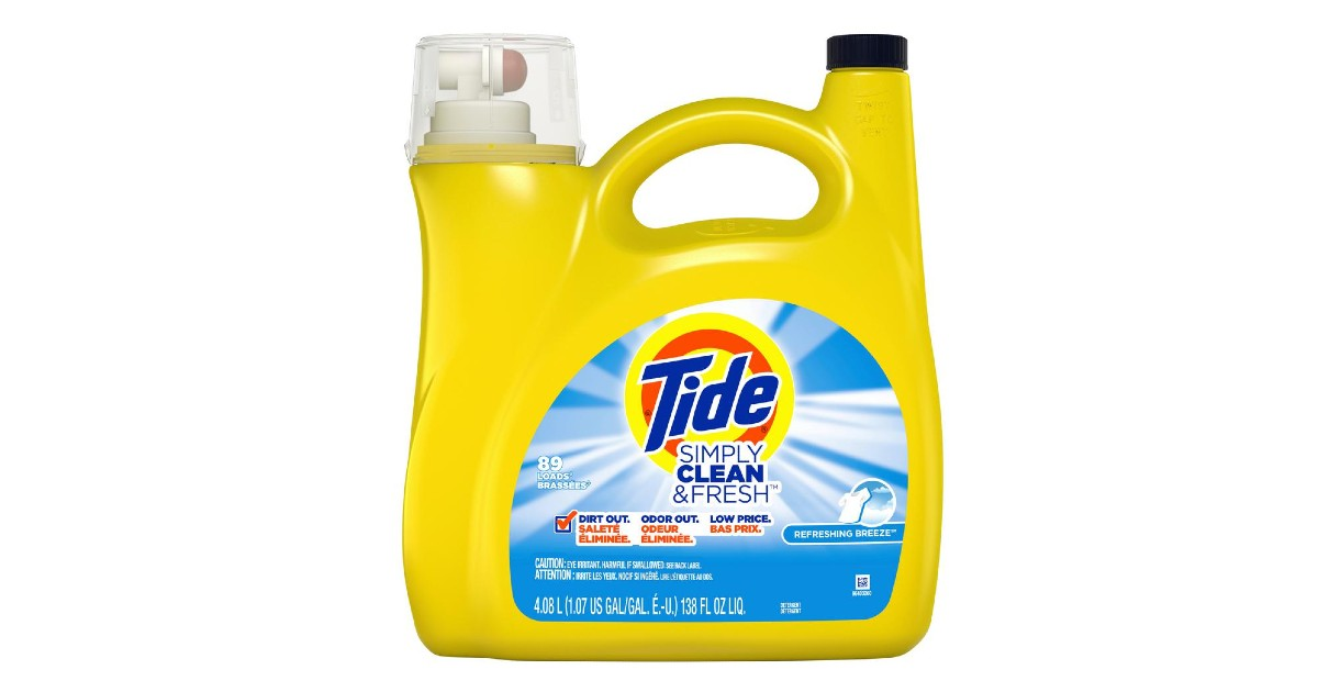 Free Tide Laundry Detergent at Staples