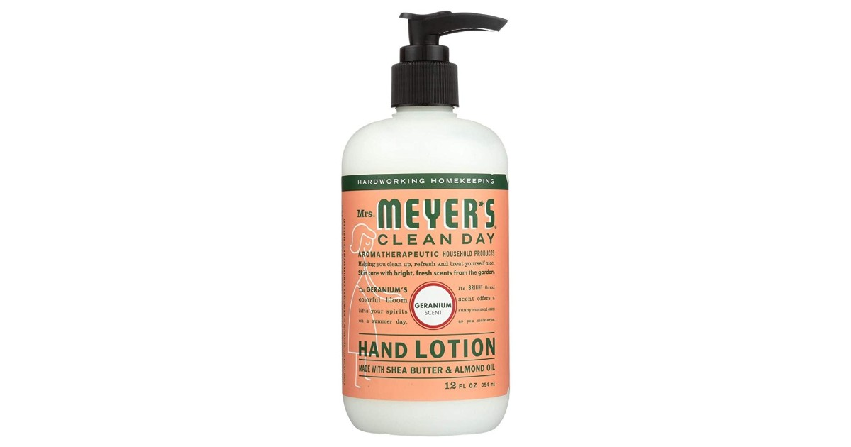 Free Mrs. Meyer's Clean Day Hand Lotion at Target