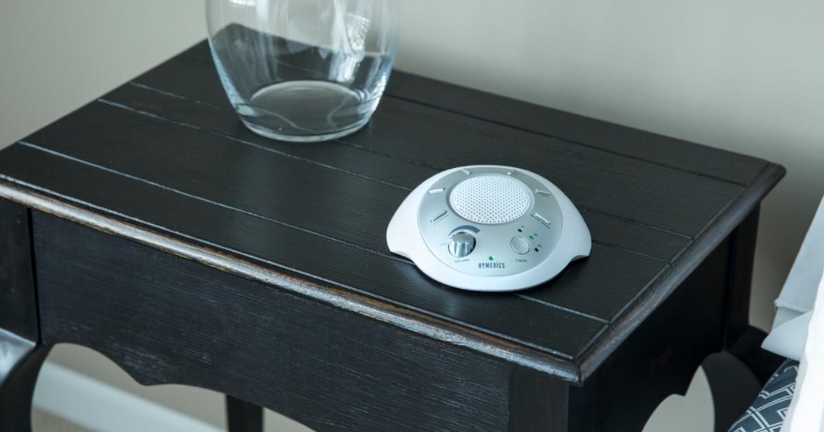 HoMedics Soundspa Relaxation Sound Machine ONLY $19.99