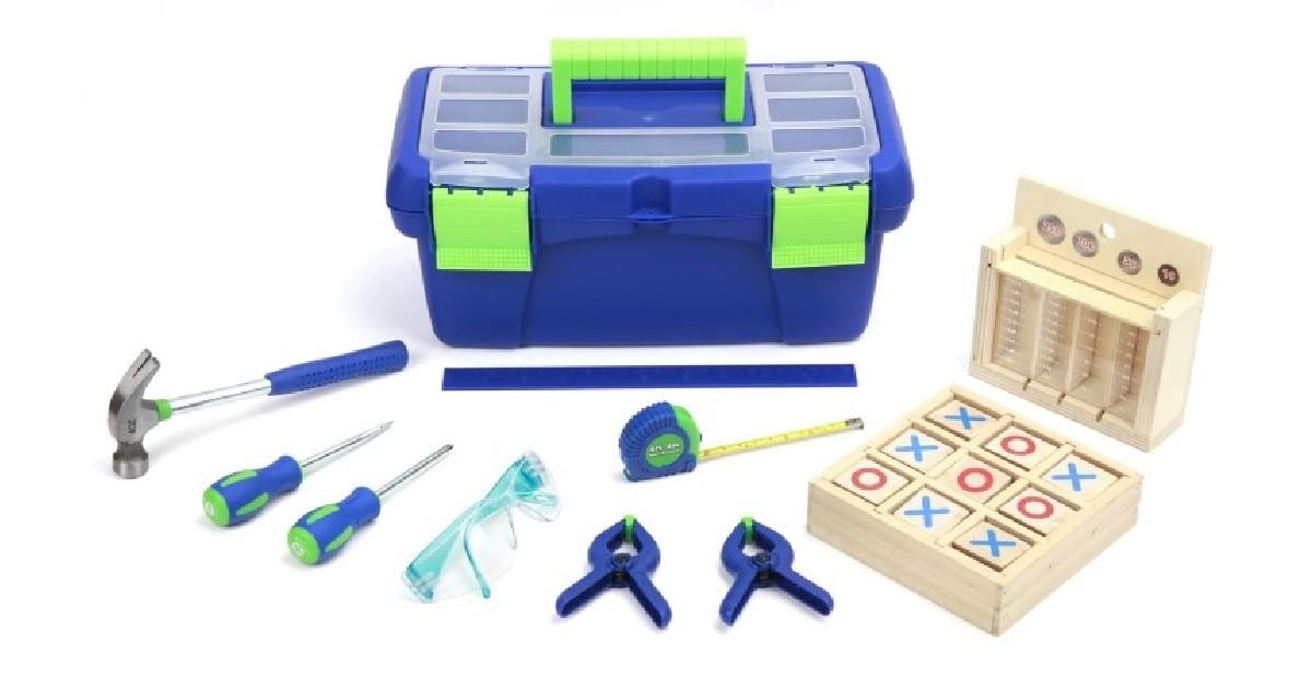 Create & Learn Children's Tool Set w/ Box ONLY $14.99 (Reg $25)