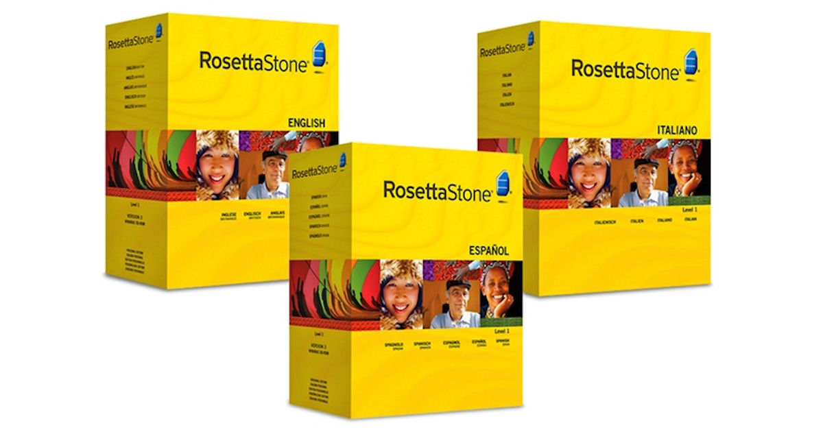 FREE 3-Months of Rosetta Stone...