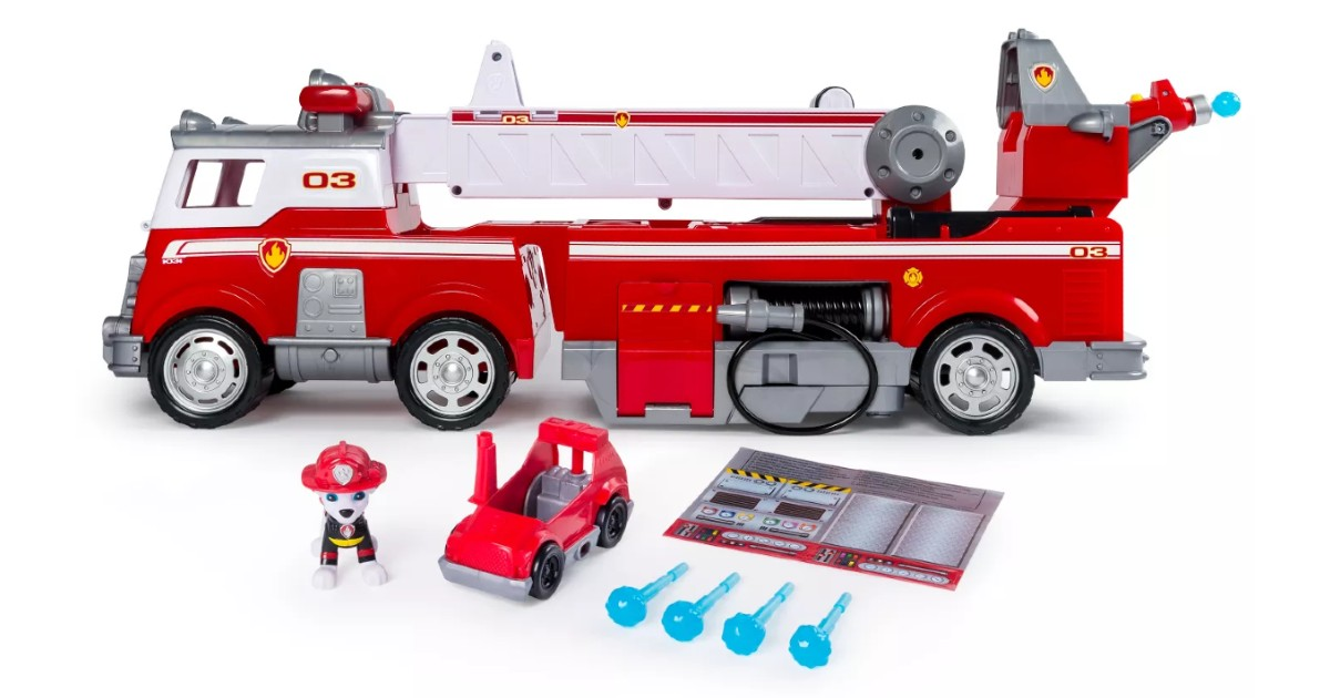 PAW Patrol Ultimate Fire Truck at Target