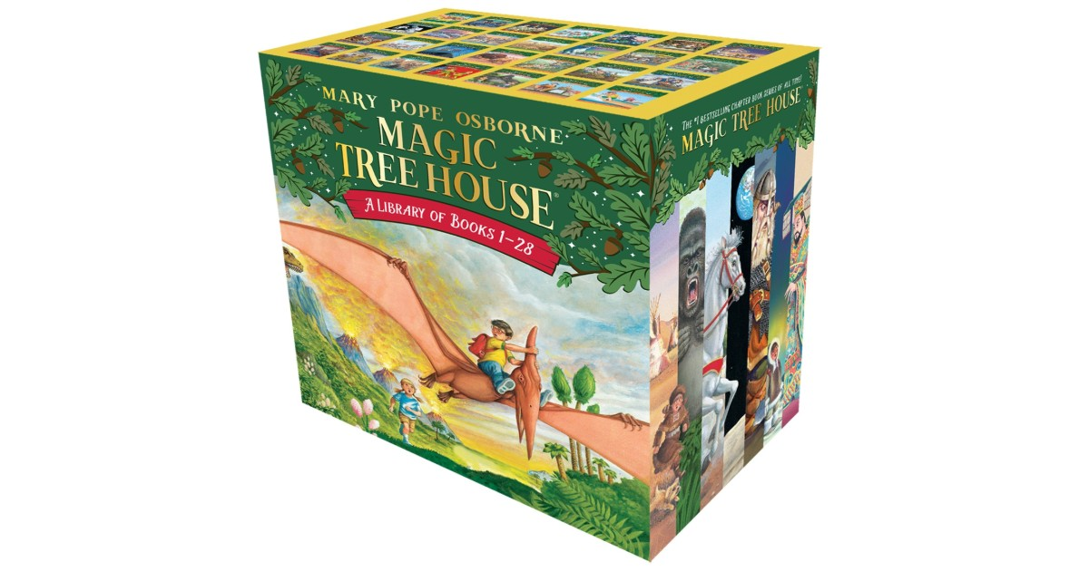Magic Tree House Boxed Set on Amazon