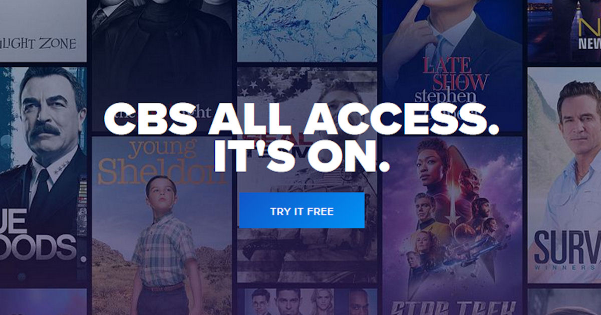1-Month FREE of CBS All Access...