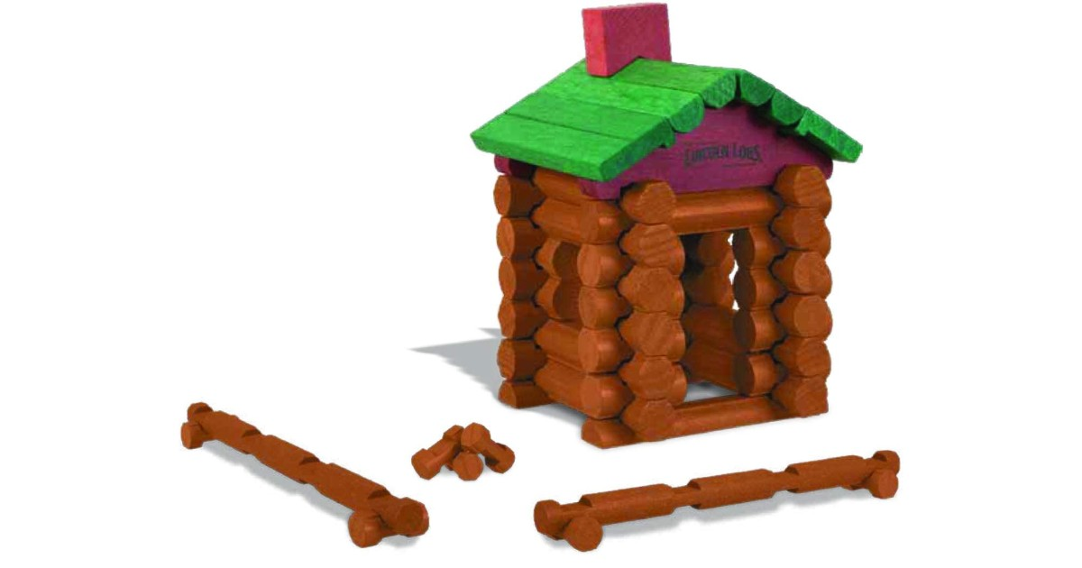 World's Smallest Lincoln Logs ONLY $3.74 on Amazon (Reg $8)
