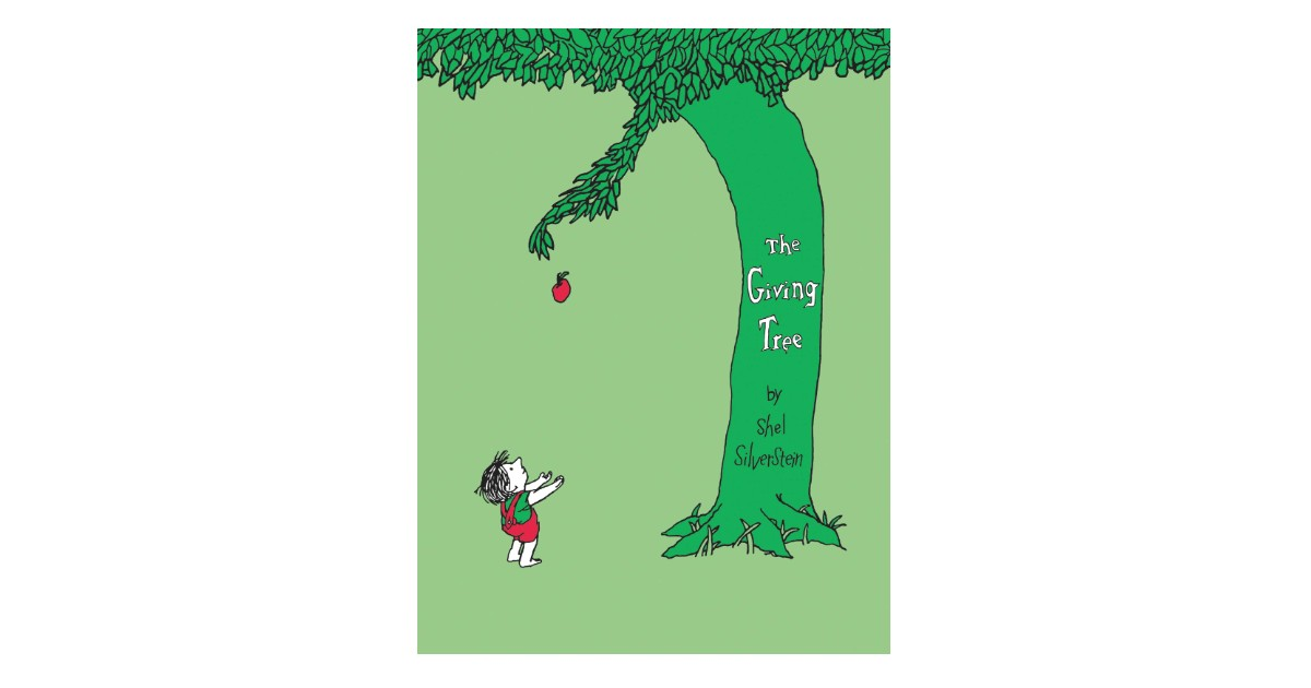 The Giving Tree Hardcover Book ONLY $8.99 (Reg. $18)