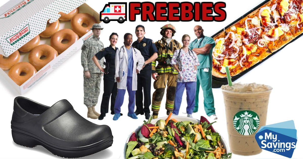 Healthcare First Responders Freebies Coronavirus