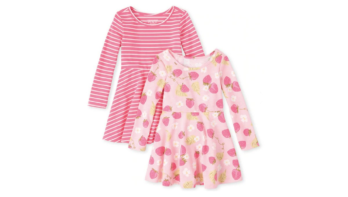 Baby and Toddler Girls Print S...