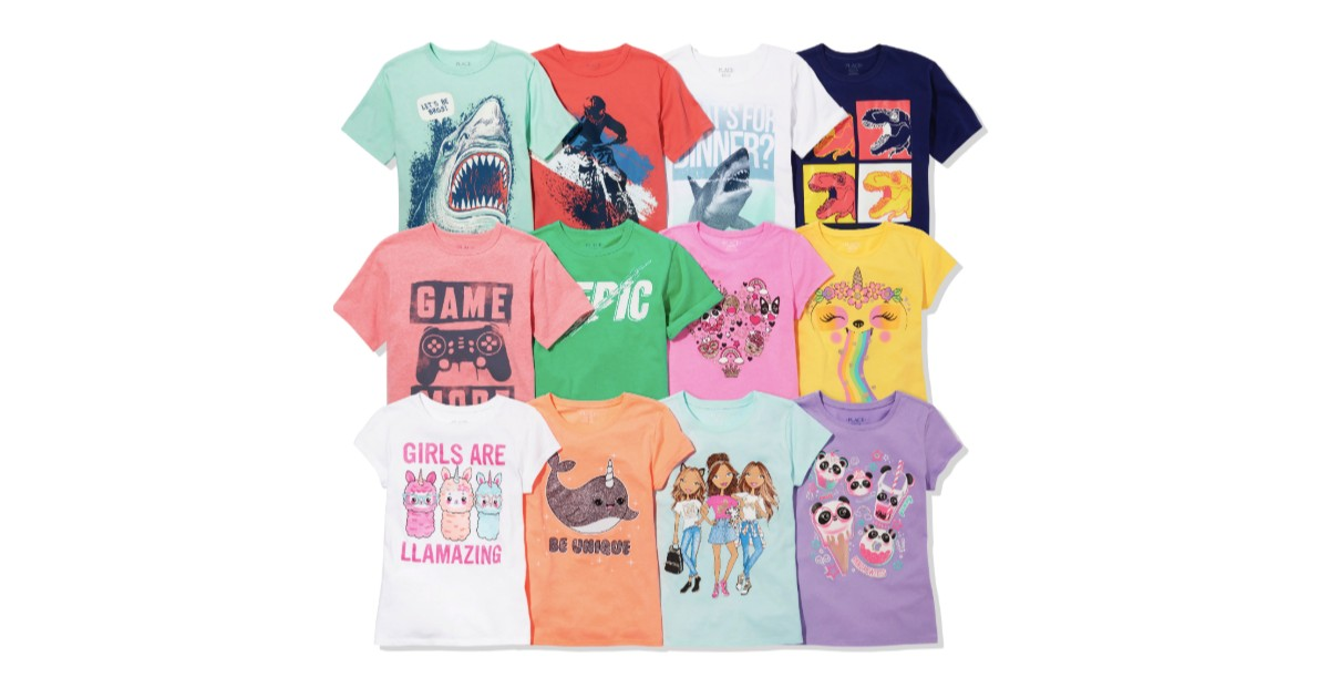 All Graphic Tees $3.99 and Und...