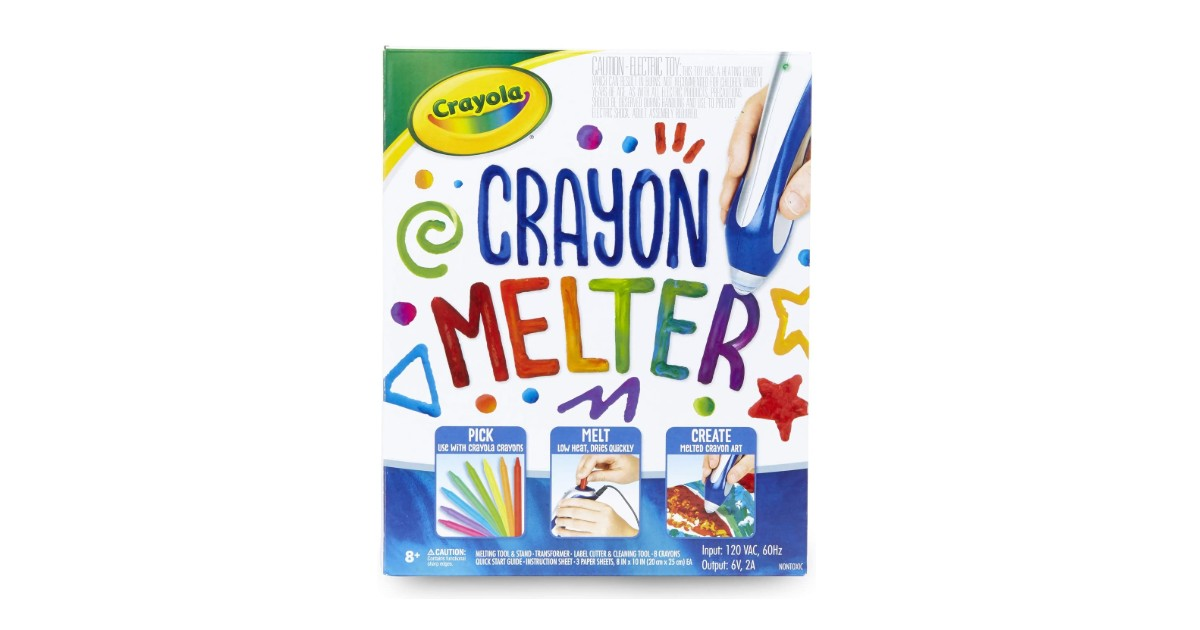 Crayola Crayon Melter ONLY $15.00 (Reg. $30)