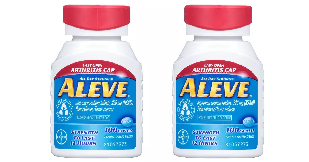 Aleve Pain Reliever Caplets at Walgreens