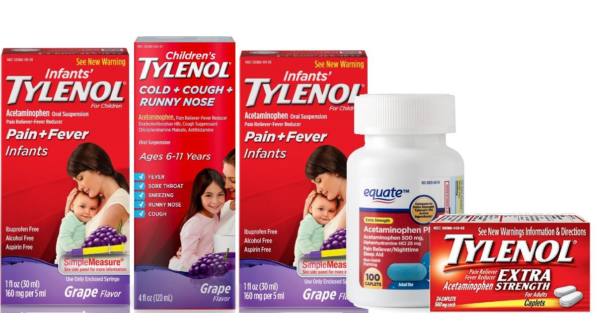 Walmart has Tylenol &...