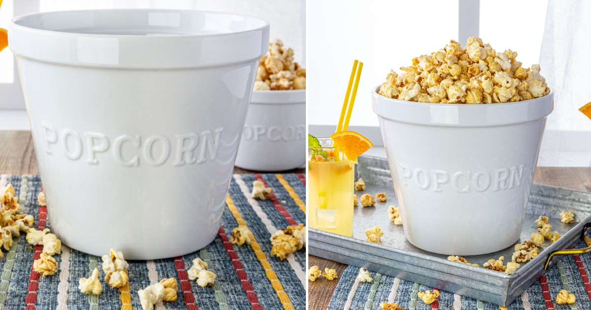 Better Homes & Gardens Large Popcorn Serve Bowl ONLY $9.88