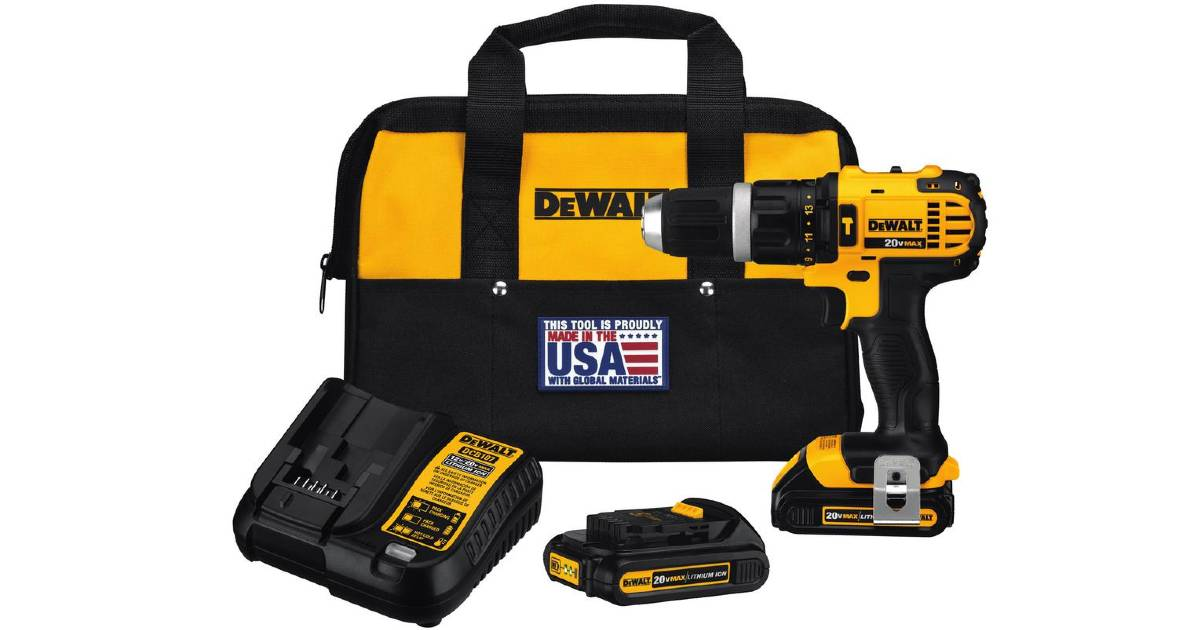 DeWalt 4-Tool Combo Kit + Bag.