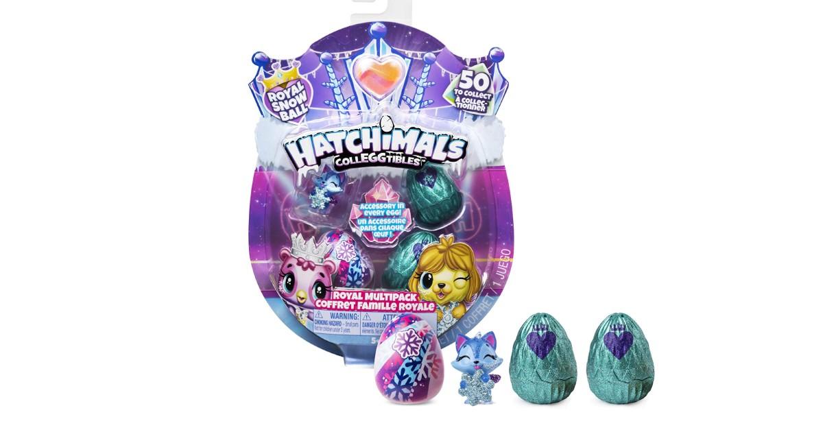 Hatchimals Colleggtibles Royal Multipack ONLY $5.76 (Reg. $10)