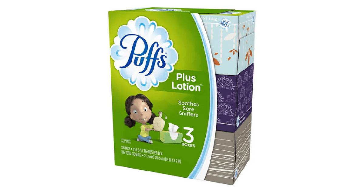 Puffs Plus Lotion at Walgreens