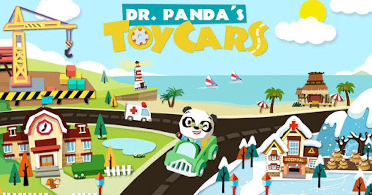 FREE Dr. Panda Toy Cars App