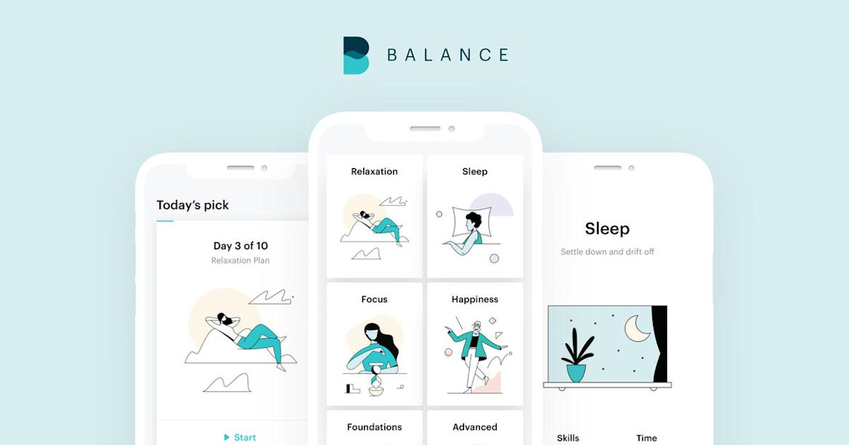 FREE 1-Year Subscription to Balance Meditation App