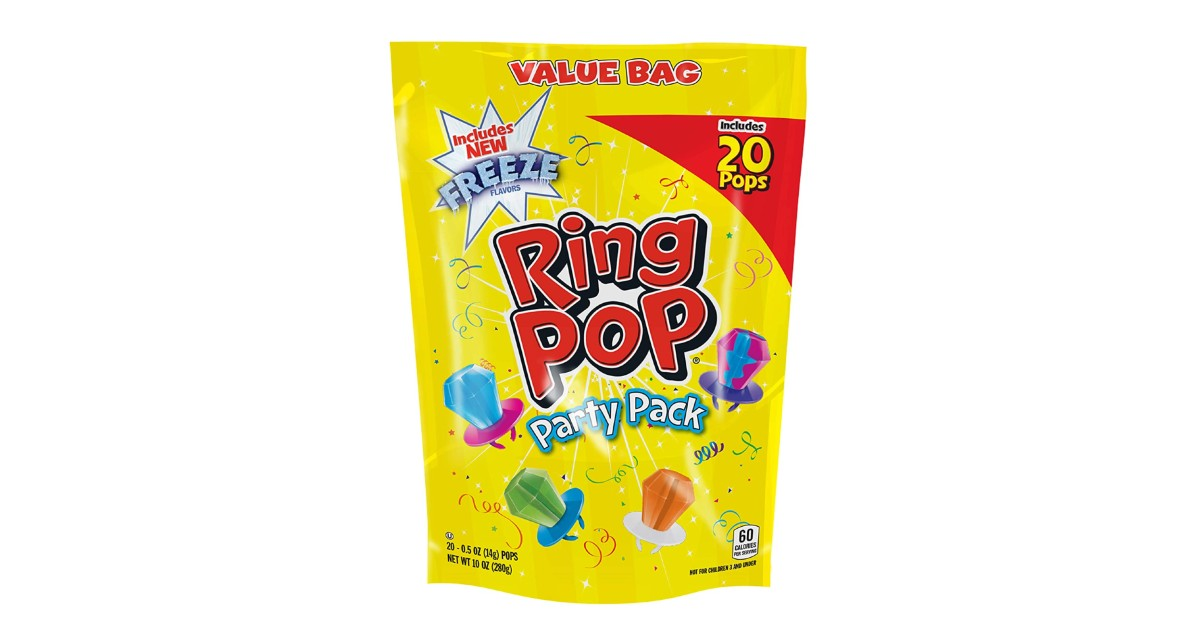 Ring Pop Variety 20-Pack ONLY $6.63 Shipped