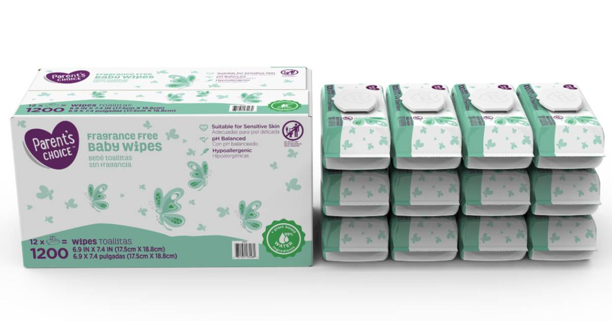Parent's Choice Baby Wipes ONL...