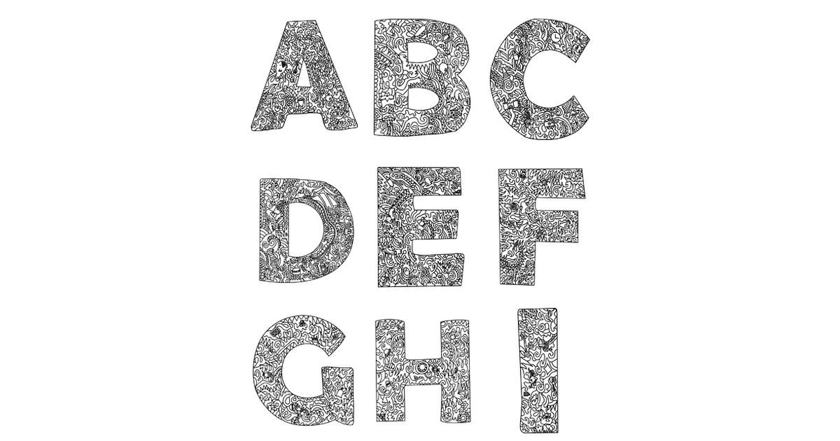 FREE Alphabet Color & Search Book Printables