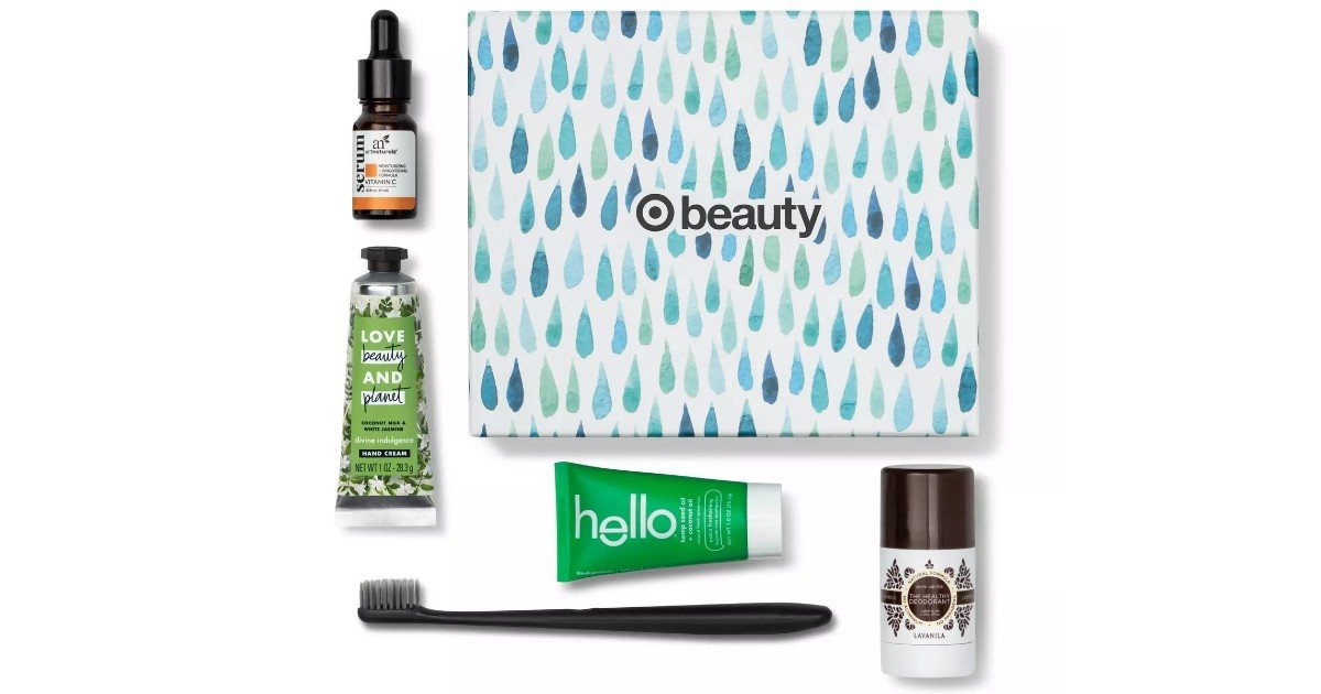 Target April Beauty Box ONLY $7 Shipped