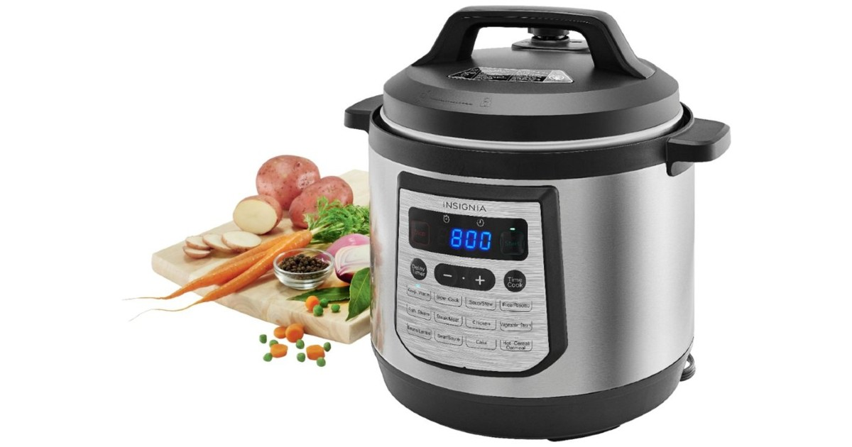 Insignia 8-Quart Digital Multi Cooker ONLY $39.99 (Reg $120)