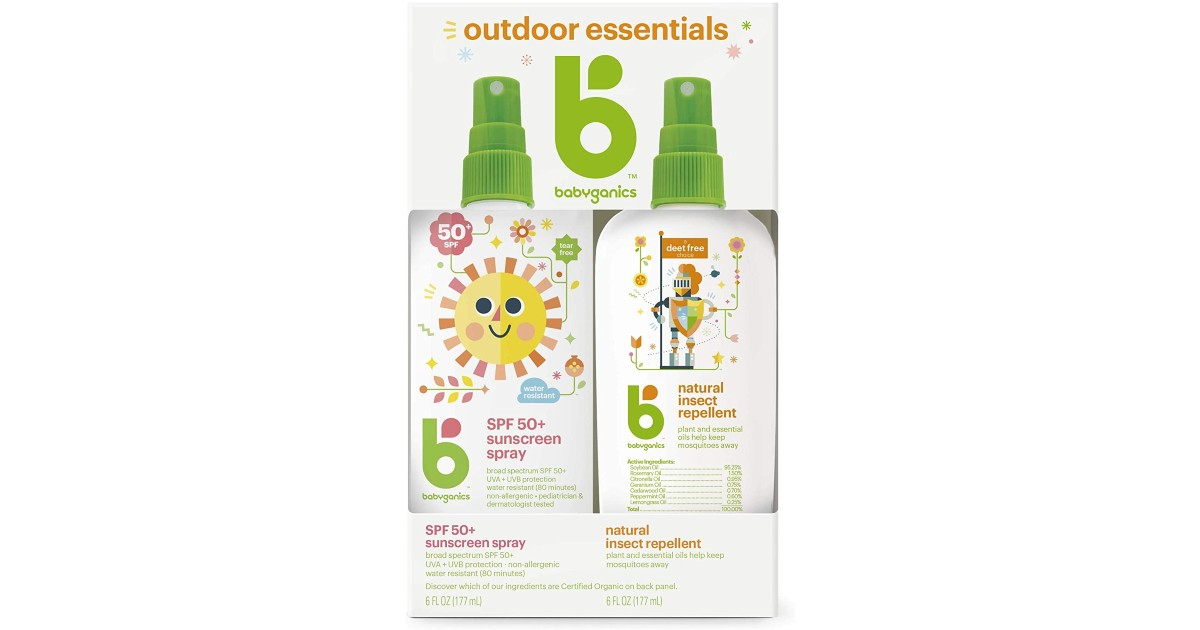 Babyganics Sunscreen Spray Bug Spray Only 12 06 Reg 20 Daily Deals Coupons