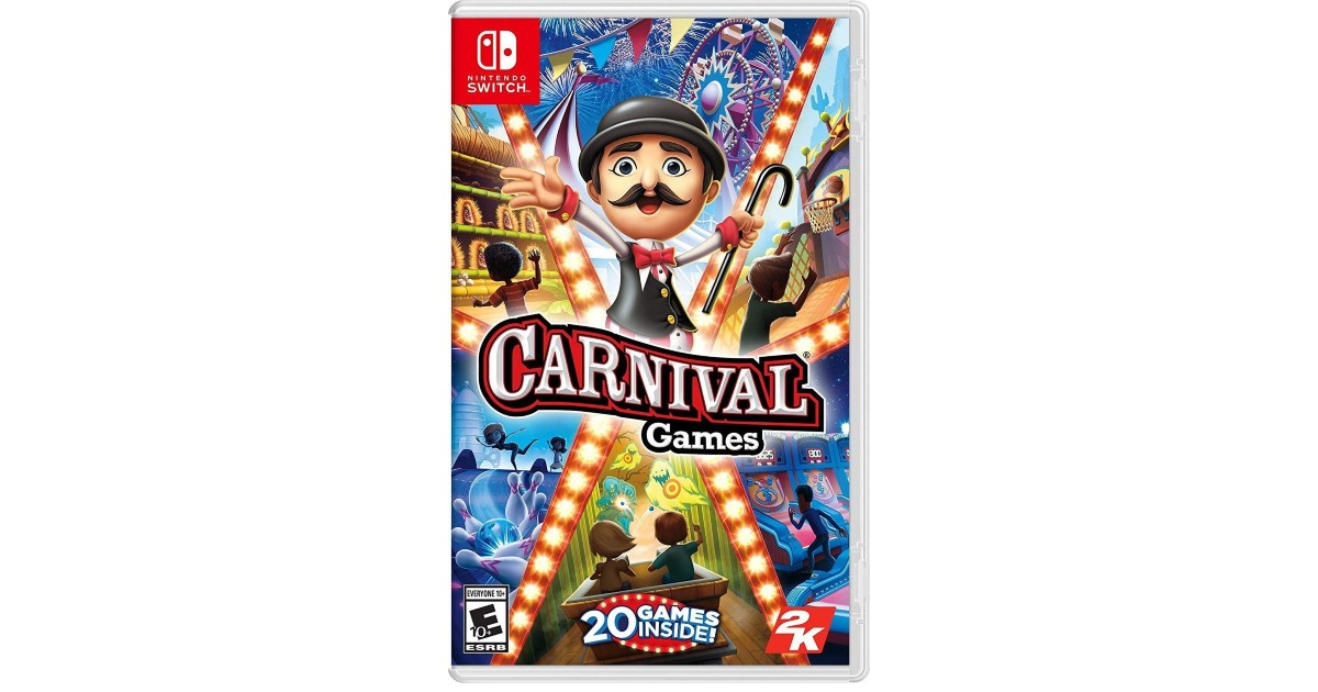 Carnival Games Nintendo Switch ONLY $14.99 at Amazon (Reg $40)