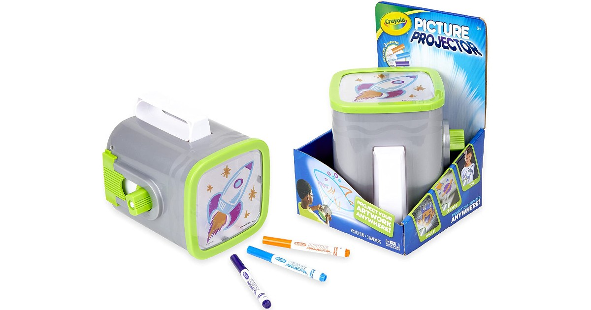 Crayola Picture Projector ONLY $14.99 at Amazon (Reg $33)