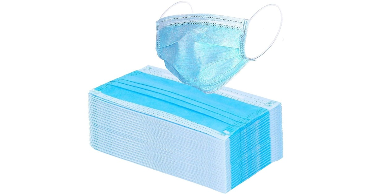 VCAN Disposable Face Mask 50-Count ONLY $0.75 Each on Amazon