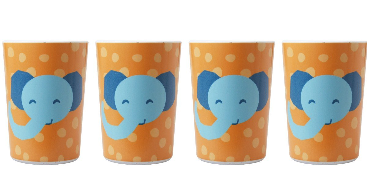 Mainstays 4 Pack Melamine Kids' Cup ONLY $2.67 at Walmart