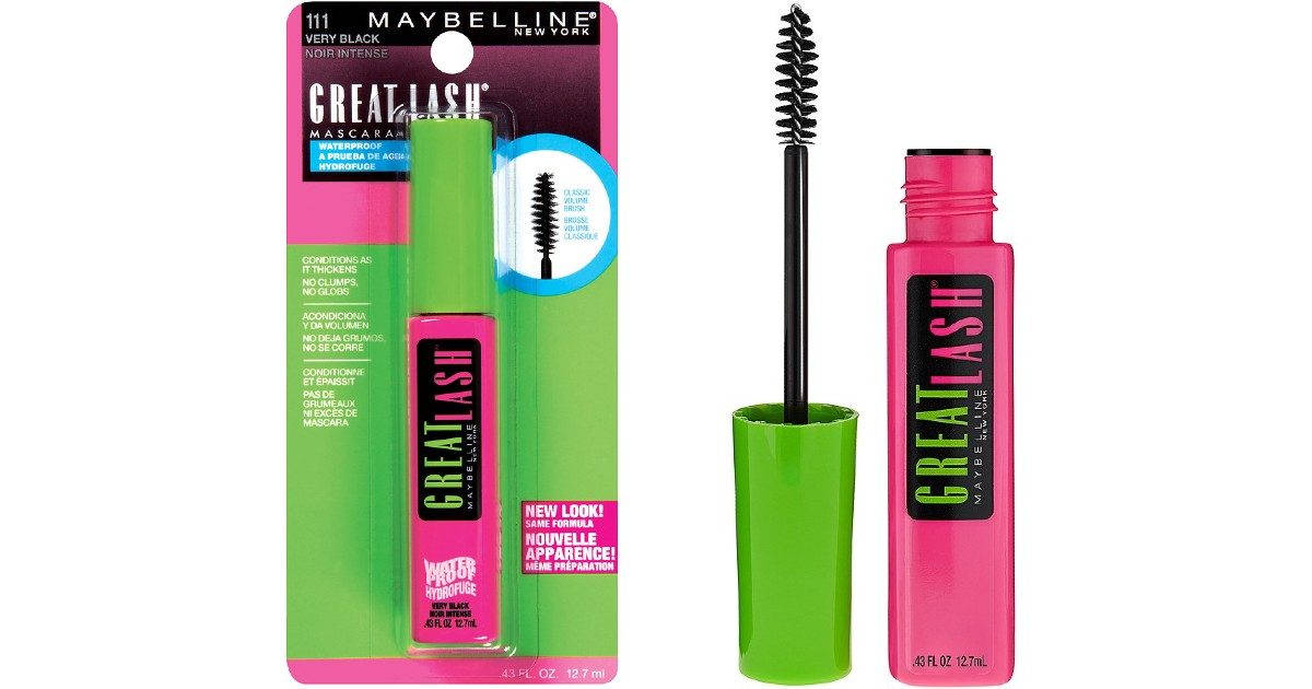 Maybelline Great Lash Mascara $0.99 Each at CVS