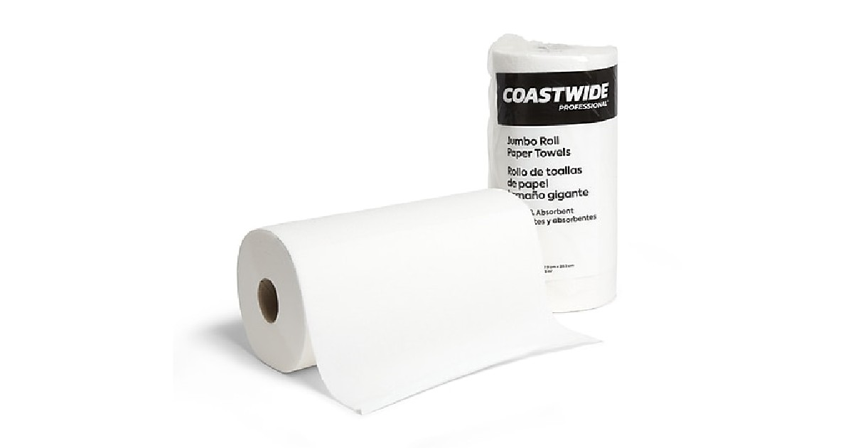 Paper Towels as Low as $1.23 at Staples + Free Shipping