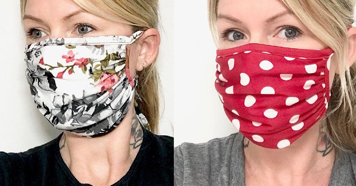 Save $13 on Fashion Face Masks at Zulily