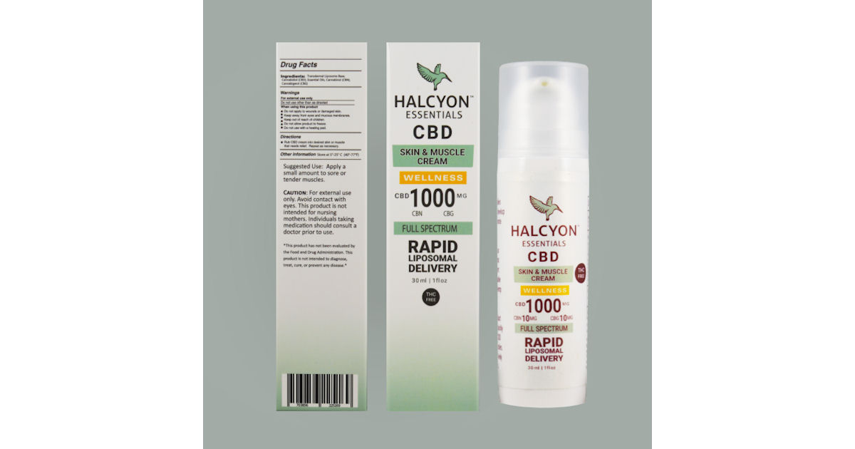 FREE Halcyon CBD Skin &amp...