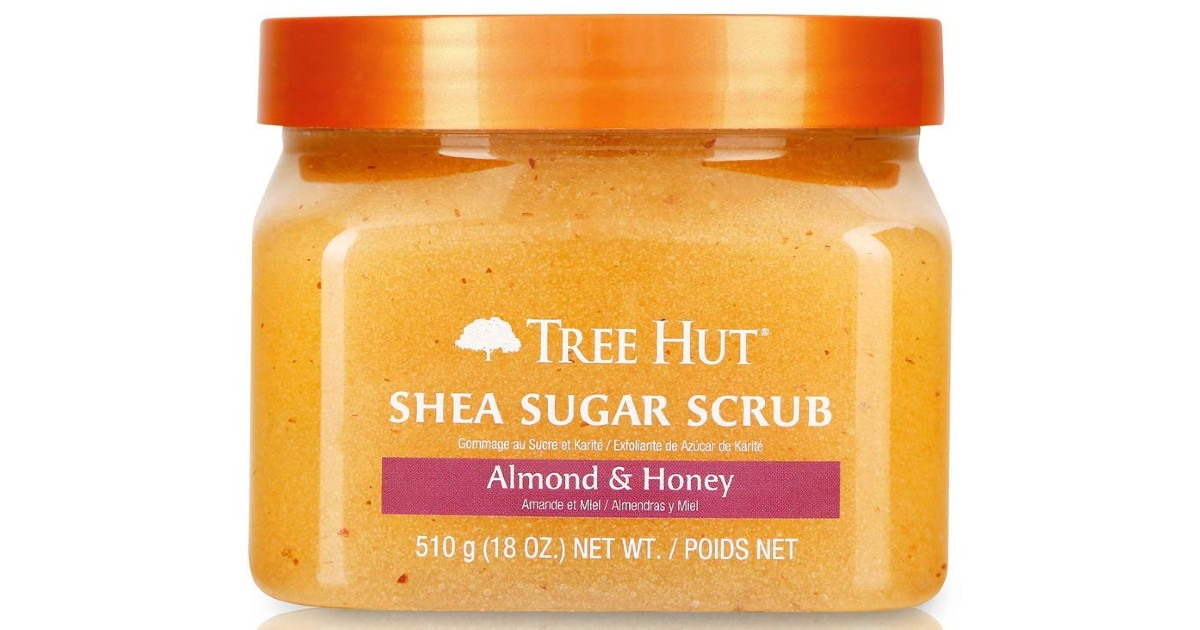 Tree Hut Shea Sugar Scrub Almond & Honey ONLY $4.50 (Reg $28)