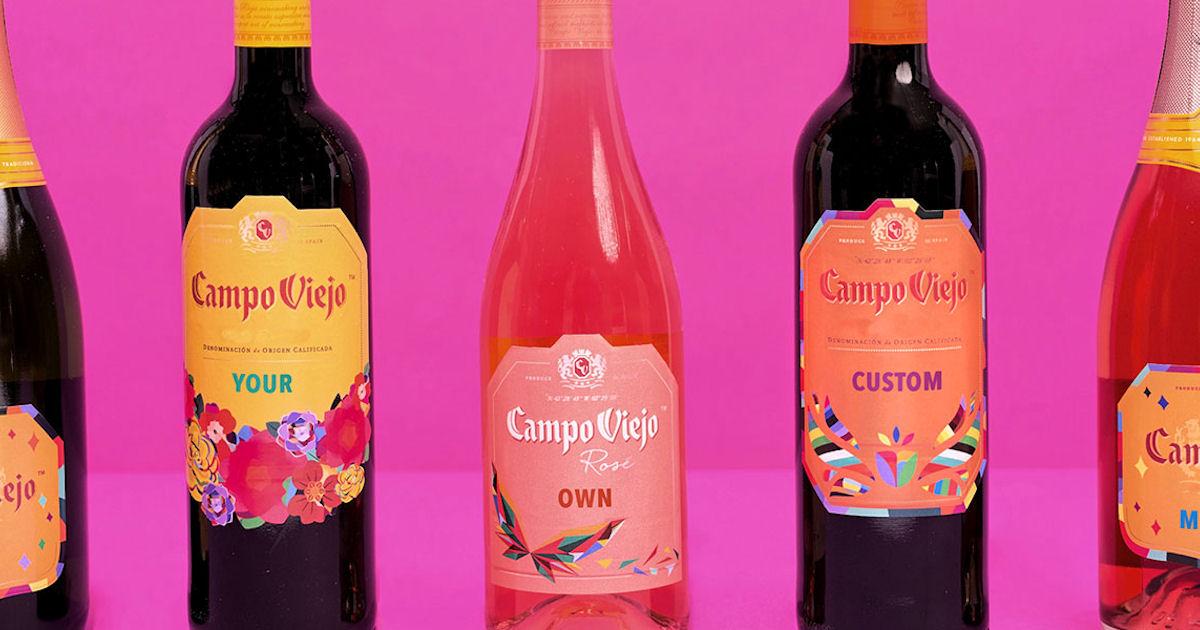 6 FREE Campo Viejo Personalize...