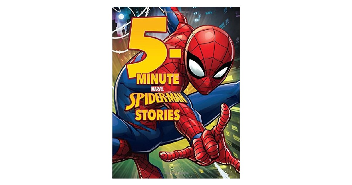 5-Minute Spider-Man Stories ONLY $6.49 (Reg. $13)