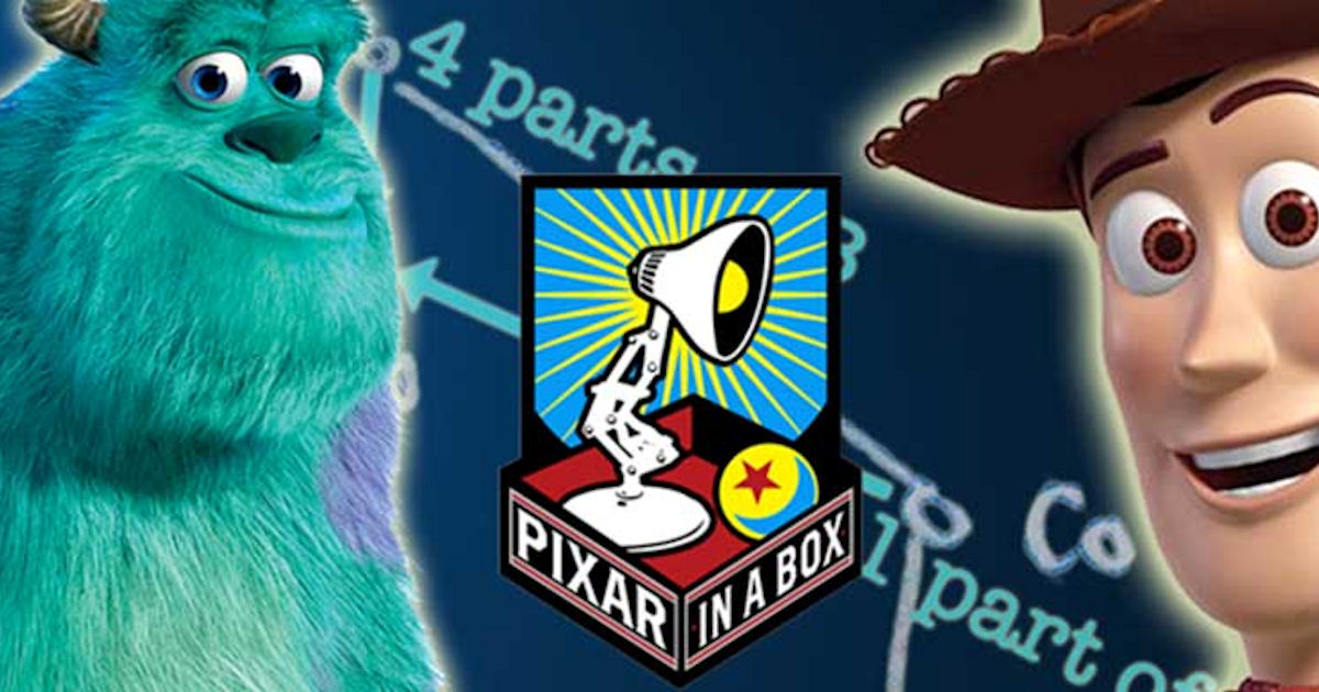 FREE Pixar in a Box Animation.