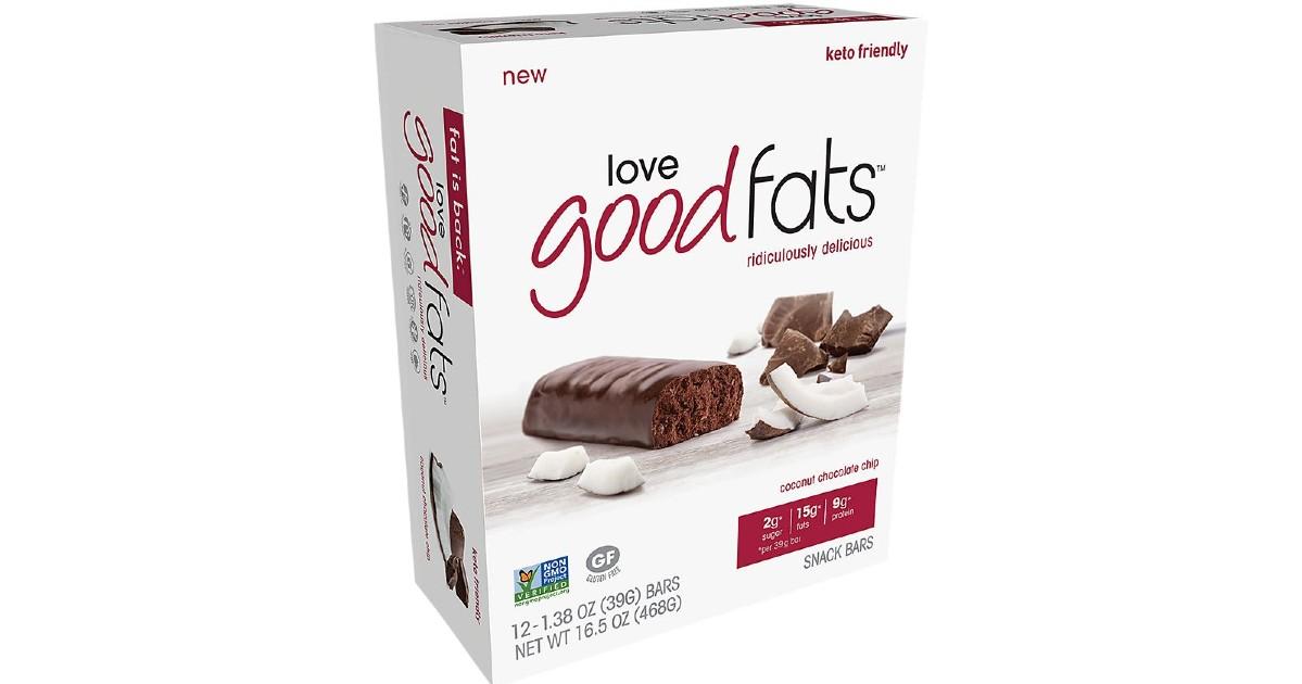 FREE Love Good Fats Bars at Wa...
