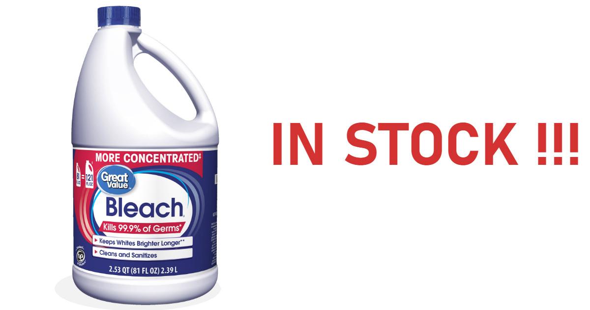 Large 81oz Bleach Bottle In St...