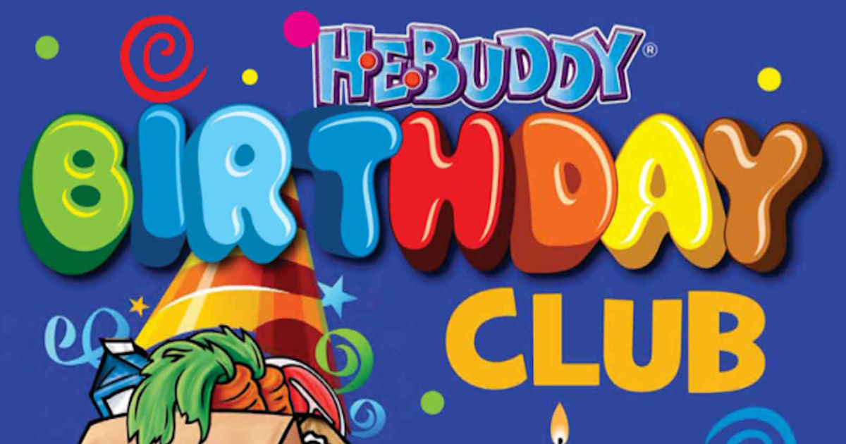 FREE H-E-Buddy Birthday Card..