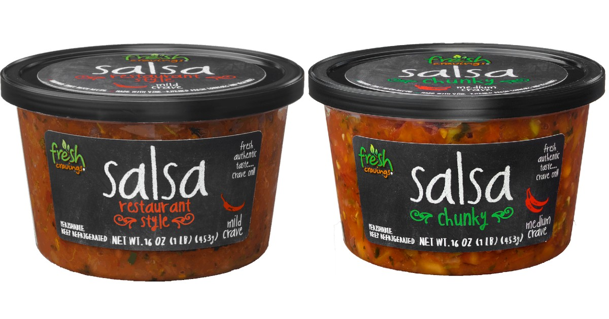 Fresh Cravings Salsa ONLY $0.9...