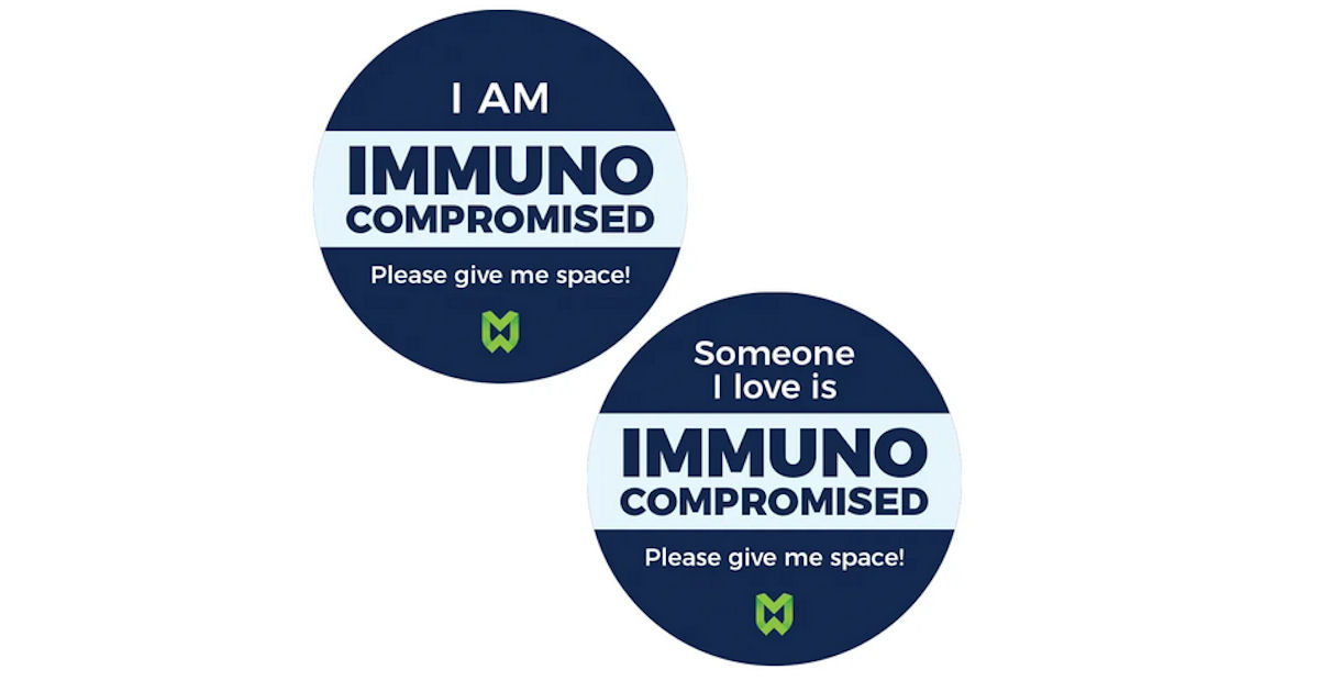 FREE I Am Immuno Compromised P...