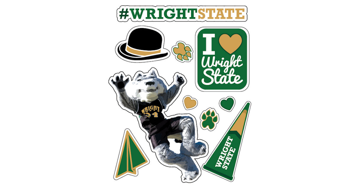 FREE Wright State Sticker Shee...