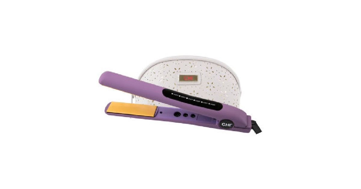 Save $84 on Chi Flat Iron at JCPenney